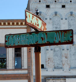 Cairo, Illinois Street Signs
