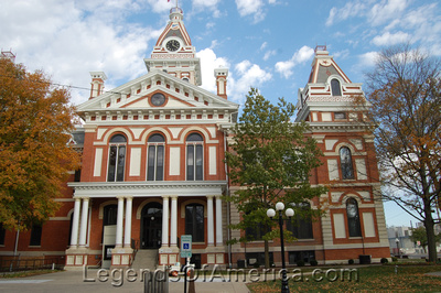 Courthouse in Pontiac, IL