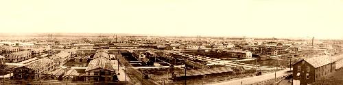 Camp Funston in 1918