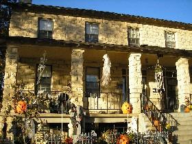 The Custer House at Fort Riley, Kansas
