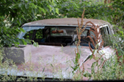 Abandoned Car in Doniphan Kansas. Dave Alexander 2014