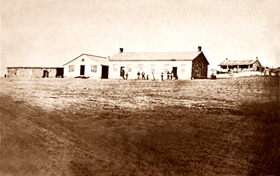 Fort Dodge, Kansas, 1867