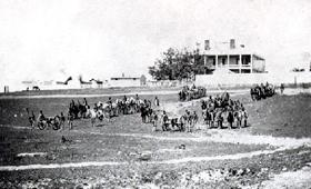 Vintage Fort Leavenworth, Kansas