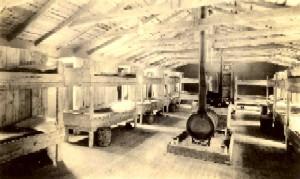 Inside the Fort Riley Barracks - 1920s