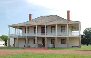 Old Fort Scott Hospital now Visitor's Center