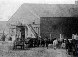Hays Store, Council Grove, Kansas, 1868