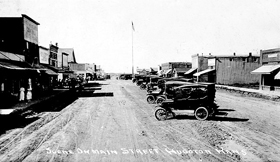 Hugoton, Kansas in the early 20th Century.