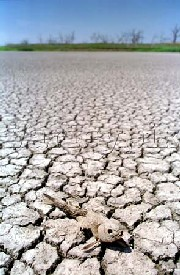 Severe drought in Kansas