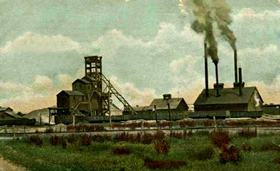 Mining near Galena, Kansas