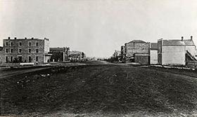 Lawrence, Kansas in 1856