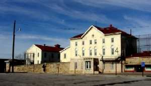 Old Army Barracks, Fort Leavenworth, Kansas