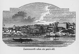 Leavenworth, Kansas in 1860.