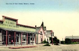 Ransom, Kansas vintage postcard.