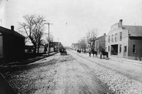 Westport Missouri in 1890
