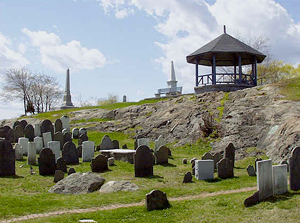 The Old Burial Hill, Marblehead, Massachusetts
