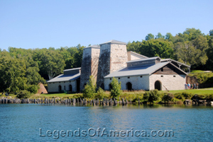 Furnace Complex at Fayette Historic Townsite