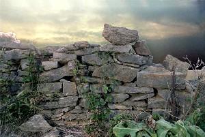 Stone Wall at Levasy Missouri