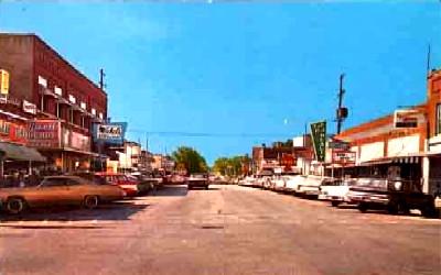 1950s Branson, Missouri Postcard