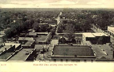Vintage Postcard of Carthage, Missouri