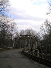 Steel Truss Bridge in Devil's Elbow, Missouri