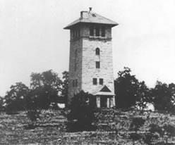 Ha Ha Tonka WaterTower in the early 1900s