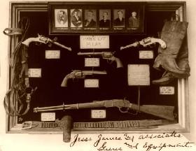 Jesse James Guns and Equipment