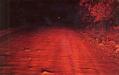 Spook Light Postcard