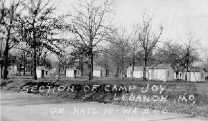 Lebanon Missouri Camp Joy on Route 66