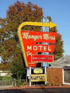 Munger Moss Motel, Lebanon Missouri