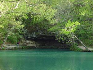 Meramec Spring State Park near St. James, Missouri.