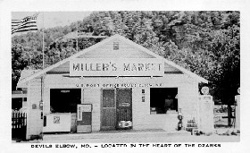 Miller's Market, Devil's Elbow, Missouri