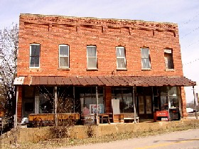 Two Story General Store in Phillipsburg, Missouri
