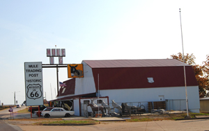 The Mule Trading Post on the east side of Rola, Missouri.