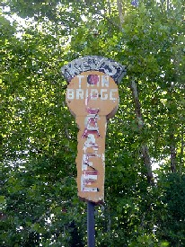 Vintage Sign at the Route 66 State Park
