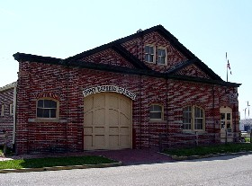 The original 1860 Pony Express stables in St. Joseph, Missouri