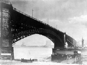 Eads Bridge, 1905