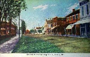 Church Street in Union Missouri 1912