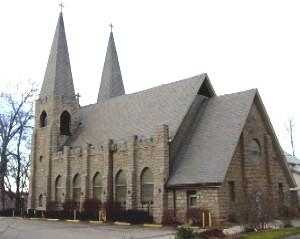 Trinity Church in Weston, Missouri