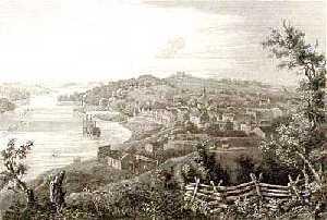 Weston Missouri Engraving-1853