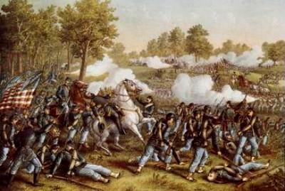 Battle at Wilson Creek, Missouri