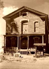 Beaverhead County Courthouse, Bannack, Montana, 1963.