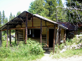 Mae Werning house, Granite, Montana