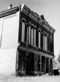 Miner's Union Hall, Granite, Montana