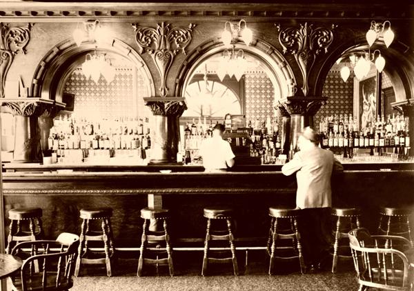 Montana Hotel Saloon, Anaconda, Montana.