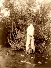Arikara maiden, 1908