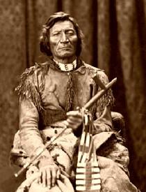 Cheyenee Chief Dull Knife, 1873