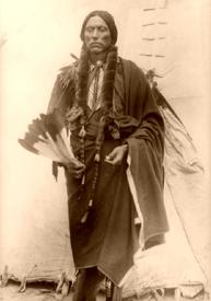 Quanah Parker, the last major chief of the Comanche Indians