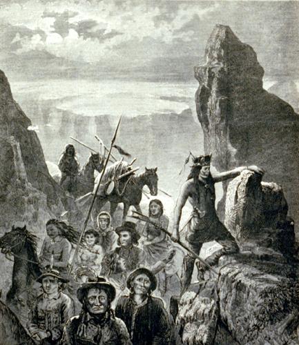 Modoc Chief And Warrior