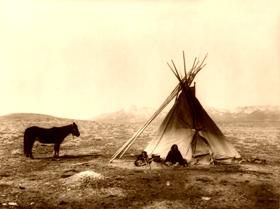 Ute Tipi, 1915