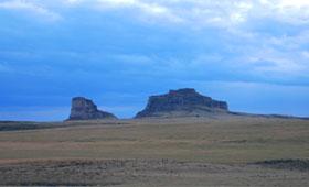 Courthouse and Jail Rocks, Nebraska